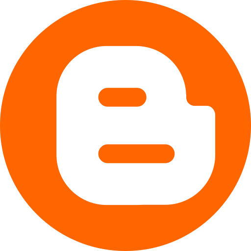 blogger, logo, online, socialmedia icon