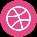 dribbble, logo, design, socialmedia, illustrate