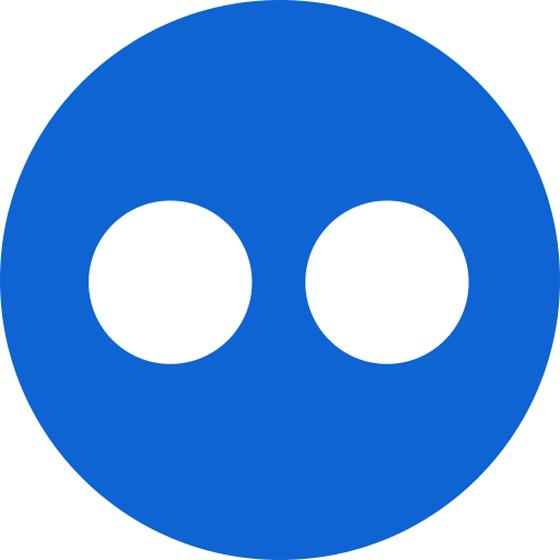 flickr, logo, media, multimedia icon