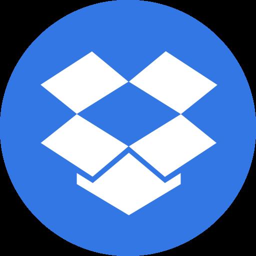 drive, dropbox, logo, storage icon