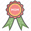 honor, mom, mother, mother's day icon