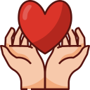 heart, hands, mothers day, mother, mom, love, family icon