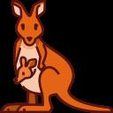 kangaroo, mom, mothers day, mother, love, family, animal