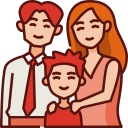 family, mothers day, mother, mom, love, child, father icon