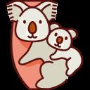koala, mom, mothers day, mother, love, family, animal