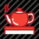 appliance, coffee, drink, hot, kitchen, tea, teapot icon