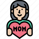 care, mom, love, support, family