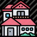 house, home, living, estate, residential