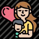 love, motherhood, parent, child, family