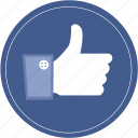 bookmark, document, download, facebook, favorite, like, social icon