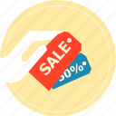 basket, buy, discount, pay, sale, shopping icon