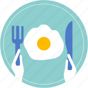 cook, cup, dish, drink, egg, food icon