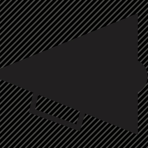 echo, megaphone, sound icon