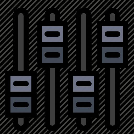 Audio, equalizer, sound, volume icon - Download on Iconfinder