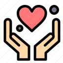 hand, heart, love, motivation