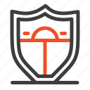 motivation, security, shield icon