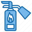 car, extinguisher, fire, motor, service, shop, vehicle icon