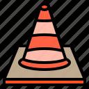 shop, business, automotive, person, cone, repair, transport