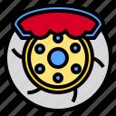 automotive, brake, business, disk, person, repair, shop icon