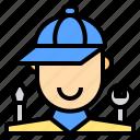 shop, business, automotive, person, mechanic, repair, transport