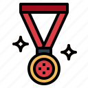 award, medal, quality, winner icon