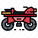 bike, motorcycle, quad, transport icon