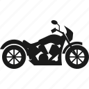 motor, motorcycle, transportation, vehicle icon