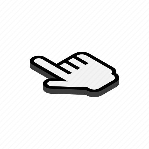 blog, computer, cursor, isometric, mouse, pointer, work icon
