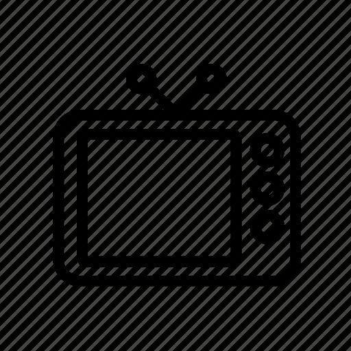 movie, retro, tv icon