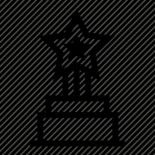 achievement, award, champion, reward, success, trophy, winner icon