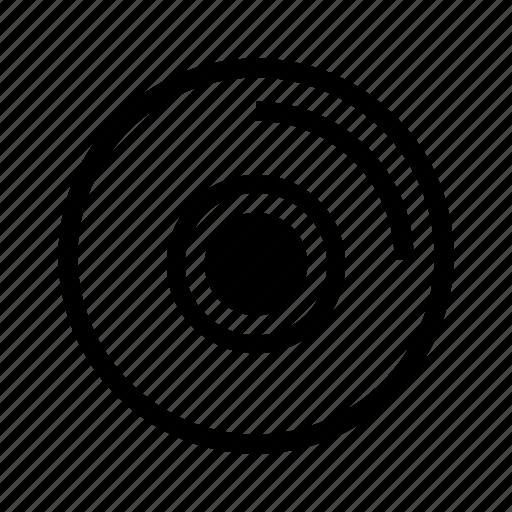 audio, cd, disc, media, record, retro, vinyl icon