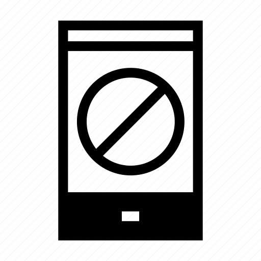 caution, communication, forbidden, prohibition, sign, smartphone, turn off the phone icon