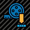 download, file, film, movie, video