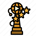 award, movie, prize, recognition, trophy