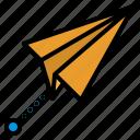 paper, plane, rocket, share, social
