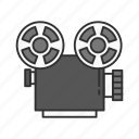 cinema, cinematography, film, film projector, movie, movie projector, projector icon