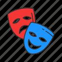 cinema, costume, face cover, mask, movie, theatre