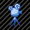 cinema, cinema projector, film, film projector, movie, projector icon
