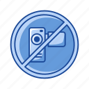 no filming, no recording, no video, restriction, rules, video, video camera icon