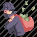 action, crime, film, money, movie, steal, thief
