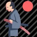japan, japanese, katana, samurai, traditional, warrior icon