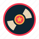 cd, disc, movie, record, vinyl icon