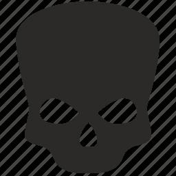 dead, death, head, sceleton icon