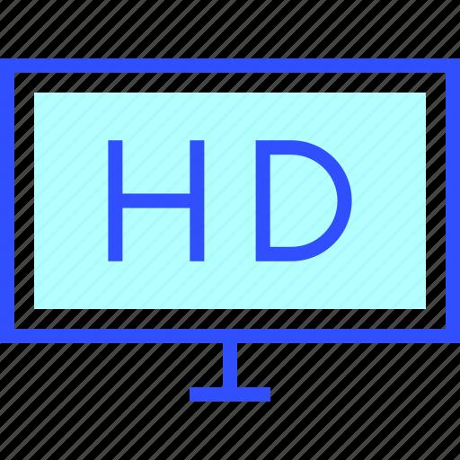 cinema, entertainment, hd, monitor, movie, theater icon