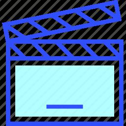 cinema, entertainment, movie, open, slapstick, theater icon
