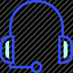 cinema, entertainment, headphone, microphone, movie, theater, with icon
