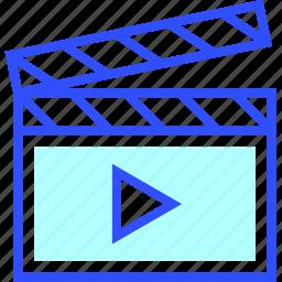 cinema, entertainment, movie, play, theater, video icon