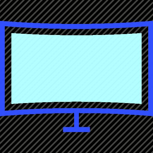 cinema, entertainment, movie, television, theater icon