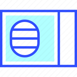 cinema, entertainment, inclined, movie, theater, videocassette icon