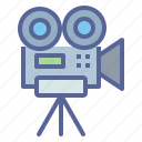 camera, cinema, film, movie, record, shoot, video